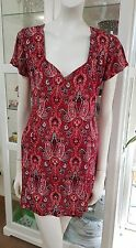 Friend oe Mine dress.Sz8.Paisley viscose.Excellent condition