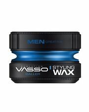 VASSO ® PRO-AQUA BALLER - HAIR STYLING WAX - WATER BASED WAX (BUBBLEGUM) *150ML*