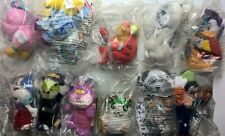 McDonalds Happy Meal Toys x 11 incl Hamtaro Digimon Disney Springers NEW MIP