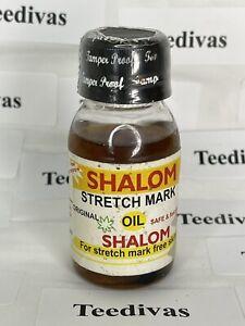 SHALOM STRETCH MARK OIL 100% ORIGINAL