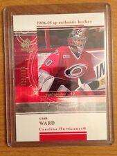 2004/5 SP Authentic Rookie Redemption Cam Ward Carolina Hurricanes RC 328/399
