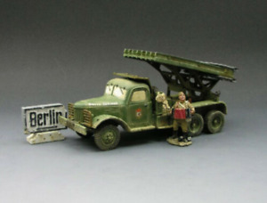 KING & COUNTRY RA14 WWII RED ARMY KATYUSHA ROCKET LAUNCHER SET * RETIRED * MINT