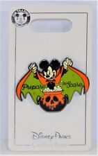 Disney Halloween 2018 Vampire Mickey Mouse Perpare To Scare Pin BRAND NEW CUTE
