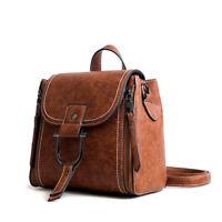 Convertible Faux Leather Small Mini Backpack Rucksack Shoulder bag Purse Satchel
