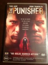 THE PUNISHER Tom Jane John Travolta Like New DVD  R4