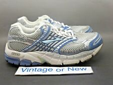 Women's Brooks Ariel 11 Silver Blue White Running Shoes sz 7