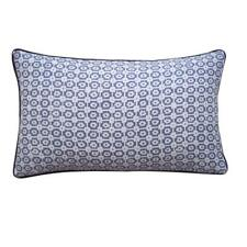 Jiti Diana Linen Throw Pillow, 12 by 20-Inch, Pewter