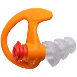 Surefire Ep4-Or-Mpr Triple Flanged Filtered Earplugs Medium 1 Pr Orange