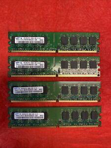 Samsung 4 x 1GB 2Rx8 PC2-5300U-555-12-E3 Set of 4 RAM memory - FREE SHIPPING