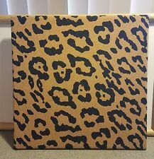 """Girl Room Desk Decor Accent Leopard  Print Cork Board 14""""x14"""""""