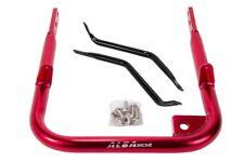 Yamaha Raptor 350  Grab Bar  Rear Bumper Aluminum  Alba Racing Red  209 T5 R