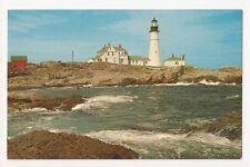 Portland Head Light Portland Maine Vintage Postcard