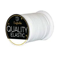 "Elastic Band Sewing Elastic Band/Rope/Cord/String for making mask | 1/8"" & 1/4"""