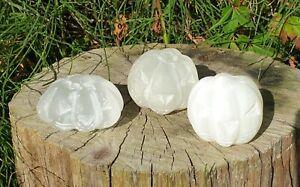 Selenite Crystal Pumpkin Carving - Free P&P