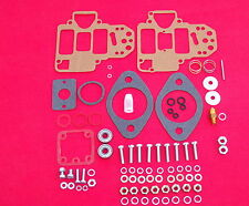 WEBER 40 DCOE CARBURETTOR SERVICE KIT . COVER SCREWS , BEARINGS , SPINDLE NUTS