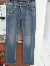 MISS SIXTY Karen Jeans Blue Italy size 27/32 4 leaf clover straight Womens NWOT