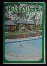 Holiday World Resort Gold Coast 075 391977 T.A.A. Ansett Matchbox (Mx1)