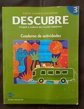 Descubre 3 Lengua y cultura del mundo hispanico Cuaderno de actividades