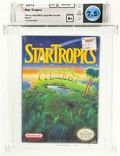 1990 STAR TROPICS A TEST OF ISLAND COURAGE NES GAME NINTENDO SEALED B+ WATA 7.5