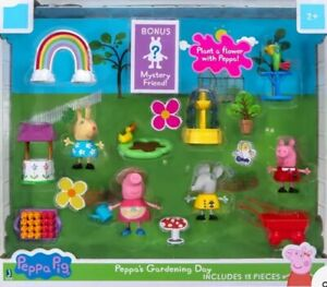 ⚡PEPPA'S PIG GARDENING DAY includes 13 pieces