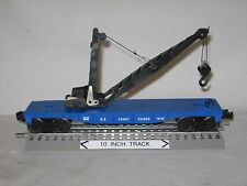 Lionel 16736 USCG Coast Guard Operating Boom/ Derrick Car (O/027 gauge) 1996