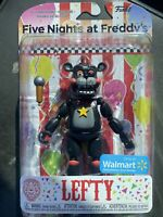 FUNKO FIVE NIGHTS AT FREDDYS LEFTY EXCLUSIVE ACTION FIGURE WALMART FNAF!!!
