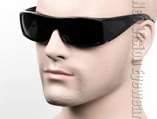 Square Cholo Gangster Sunglasses Super Dark OG LOC Black SH SW2