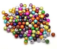 100 Perles miracle magique - Diam: 6 mm ronde - Mixte