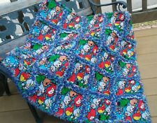 rag quilt kawaii avengers marvel throw quilt  handmade USA #122
