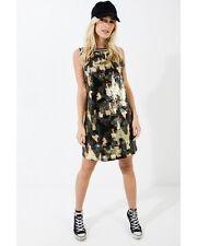 c89a1cde377a Daisy Street Alexis Camo Sequin Dress Black/khaki Size Xs/uk 6 Lf075 LL