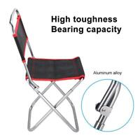 Portable Folding Outdoor Camping Picnic Fishing Chair BBQ Beach Seat Backrest