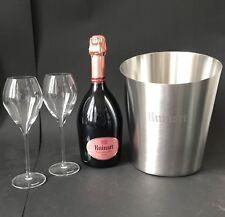 RUINART champagne Rose Champagne 0,75 L 12% VOL + 2 RUINART Verres + Refroidisseur