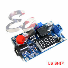 W/ Switch Buck Step down LM2596 Power Converter DC 4.0~40 1.3-37V LED Voltmeter