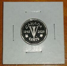Canada 2020 Proof 5 Cents Limited Edition Victory Nickel Five Cent