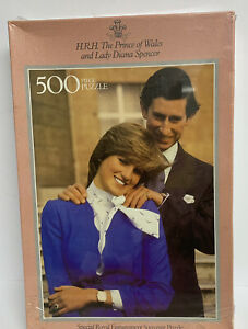 Vintage Charles & Diana Special Royal Engagment Puzzle 500 Pieces sealed