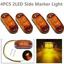 4x LED Begrenzungsleuchte Seitenmarkierungsleuchten Positionslicht PKW Anhänger