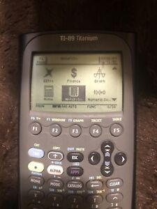 TI-89 Titanium Calculator