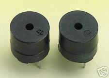 2 off Subminiature Buzzer 5V 4-8V DC Sounder Buzzer (703)