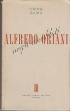 ZAMA PIERO ALFREDO ORIANI NEGLI ANEDDOTI 1952 LIBRO LETTERATURA ROMAGNA