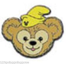 Dumbo Duffy's Hats Teddy Bear Yellow Hat 2013 Hidden Mickey Disney Pin 94935
