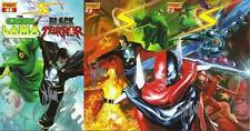 signed set (3) SUPERPOWERS #1 & both #0 JIM KRUEGER 1st print alex ross DYNAMITE