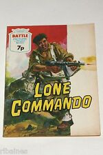 Battle Picture Library Comic, Number 827 Lone Command, British Pocket