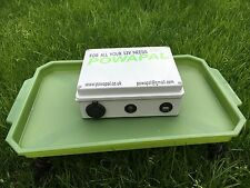 Powapal mk2 12v Centrale Elettrica Portatile per Pesca della Carpa Bivvy Power Pack mobile