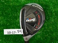 TaylorMade M4 19* Left Hand 3 Hybrid Rescue Atmos 6R Regular Graphite