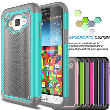 PC Shockproof Armor Impact Slim Hard Case Cover for Samsung Galaxy SKY 2016 J3 V