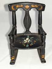 Renwal Rocking Chair Doll House Furniture Cooks Forest Park Pa Vintage