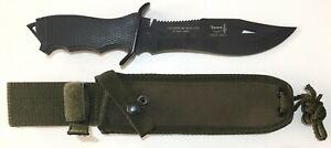 ARGENTINE YARARA BRAND ARMY MOUNTAIN HUNTER ORIGINAL MILITARY ISSUE BOWIE KNIFE