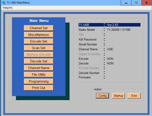 Midland Base Tech II 71-1480 (v2.83) Program Software