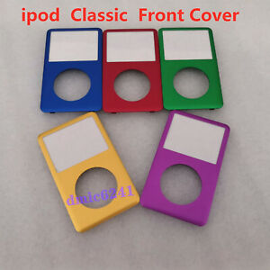 Custom Colour iPod Classic A1238 Front Cover Housing Face 6th 7th 80 120 160GB
