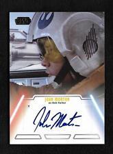 2013 Topps Star Wars Jedi Legacy John Morton as Dak Ralter Autograph